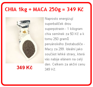 chia+maca - Pozadí kauzy botulotoxin v cizrnové pomázance