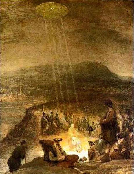 11BaptismOfChrist - Je na malbě zroku 1710 vyobrazené UFO?