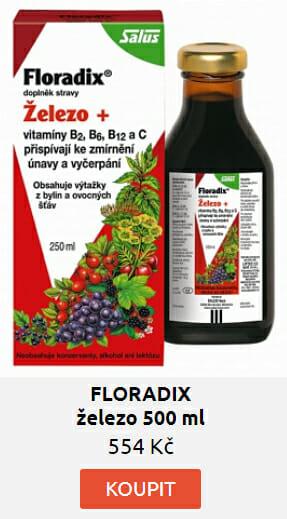 FLORADIX železo 500 ml