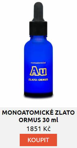 MONOATOMICKÉ ZLATO - ORMUS 30 ml