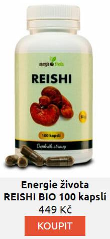 REISHI BIO 100 kapslí