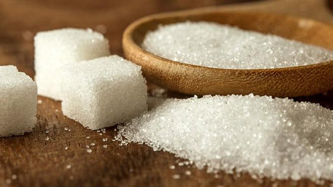 Cukr může způsobovat nepříjemné alergie.
