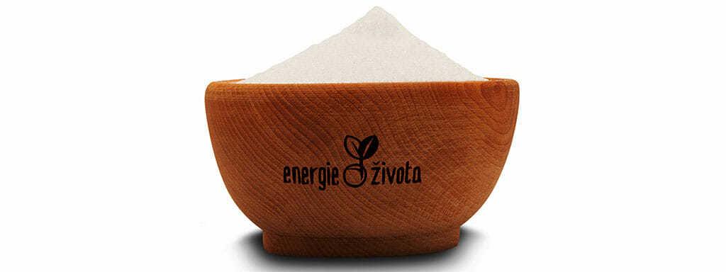 Erythritol jako nové přírodní sladidlo, které chutná jako cukr.