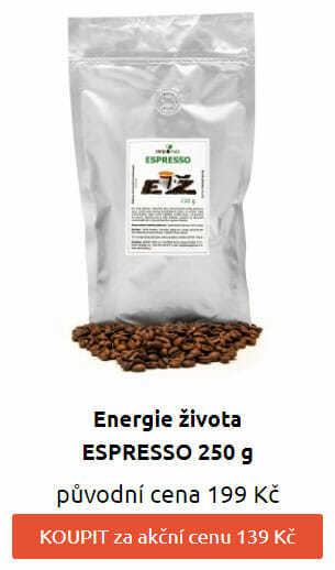 30% SLEVA: ESPRESSO 250 g ze 199 na 139 Kč