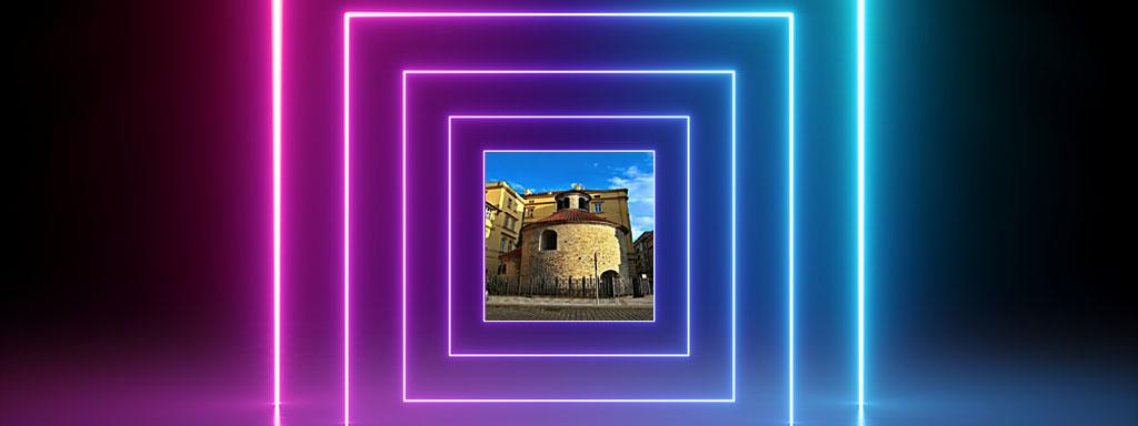 Rotunda svatého kříže: Vstup do jiné dimenze?