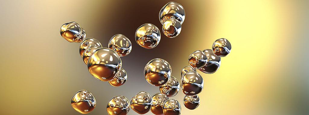 Zlato se dá využít k přeměně CO² na tekuté palivo.