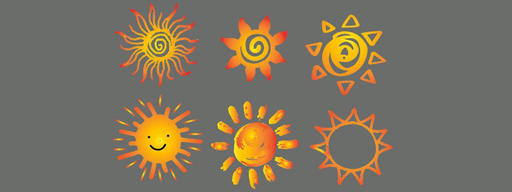 Slunce, které si vyberete, odhalí o vás pravdu.