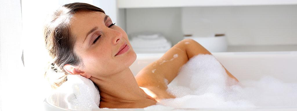 Koupelna jako místo pro relaxaci: Užívejte si doma jako v lázních!