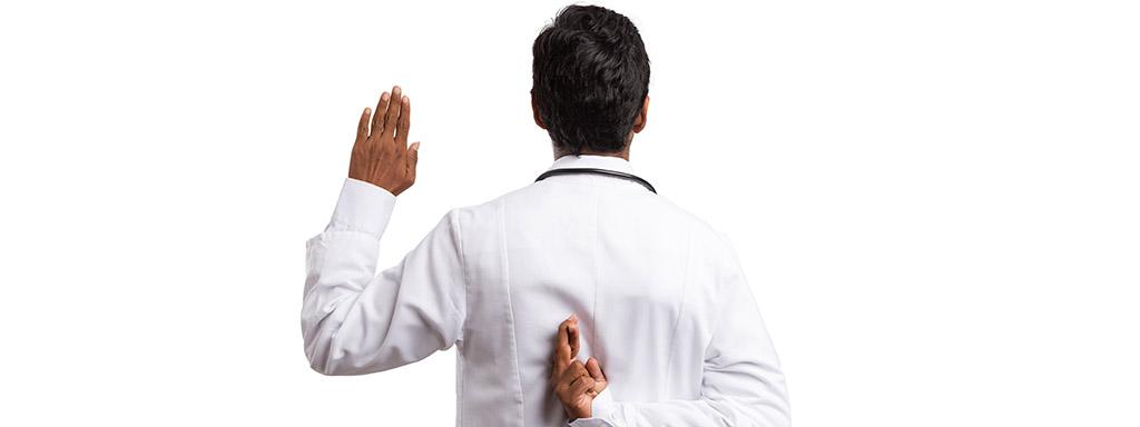 10 zjištění, která jsou v rozporu s lékařskou praxí.