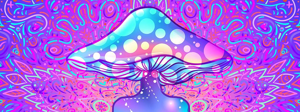 Psychedelika mohou snížit depresi a úzkost.