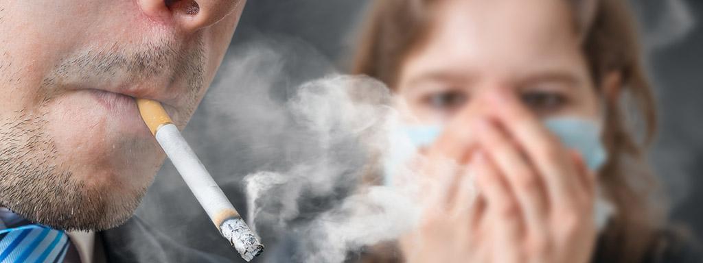 Pasivní kuřák je obětí bezohlednosti.