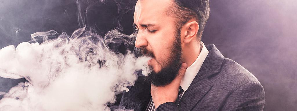 Chronická bronchitida je častým onemocněním kuřáků.